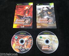 LOT 2 JEUX Microsoft XBOX : DYNASTY WARRIORS 4 + 5 (Koei COMPLET envoi suivi)