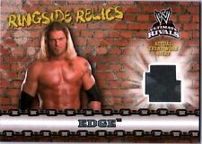 WWE Edge 2008 Topps Ultimate Rivals Ringside Relic Event Worn Shirt Card Camo