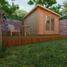 SPECIAL OFFER !!!  8' x 8' Howie  Log Cabin 28 mm walls