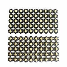 1W 3W LED Diode warm white/white+20mm Star PCB For DIY LED Floodlight Spotlight
