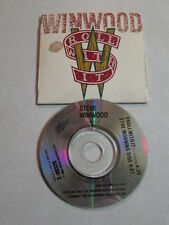 STEVE WINWOOD ROLL WITH IT 3 INCH CD3 2 TRK SINGLE UK PRESS TRAFFIC BLIND FAITH