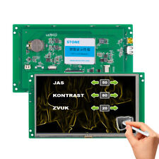 "7.0"" Display HMI TFT LCD With Smart Board LCD Controller"