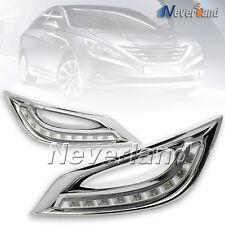 for Hyundai Sonata 2011-2013 LED DRL Daytime Running Light Signal Fog lamp Cover