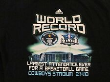 "2010 ALL STAR""GUINNESS WORLD RECORD""..T SHIRT..ADULT LARGE.."