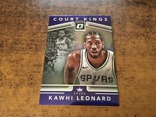 2017-18 Donruss Optic Court Kings Purple Silver Refractor Kawhi Leonard #28