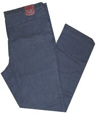 Jeans uomo taglie forti dalla 57 alla 75 pantalone elasticizzato leggero scuro