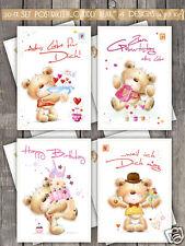 20 Postkarten,4 Designs im Set, Geburtstagskarten 10,5  14,8 cm
