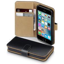 Étuis, housses et coques etuis portefeuilles noir iPhone SE pour téléphone mobile et assistant personnel (PDA) Apple