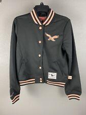 Mitchell & Ness Womens Philadelphia Eagles Throwback Jacket Size Small