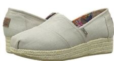 Bobs From Skechers Womens Highlights High Jinx Wedge Taupe 8 M US Tax