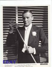 Herbert Marshall Accent On Youth VINTAGE Photo plays w/pool stick