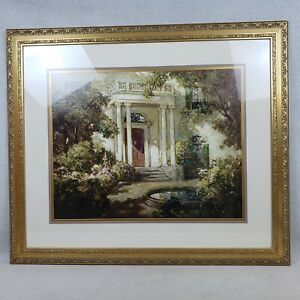 Large Picture of Grand Victorian Home and Surrounding Garden Entrance Very Nice