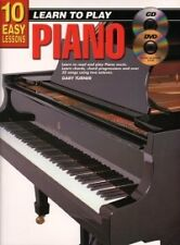 10 EASY LESSONS Piano Book + CD & DVD*