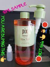 Pixi Glow Tonic Toner 10ML TESTER SAMPLE Acne Exfoliating Facial Exp 16 May 2021