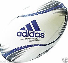 ADIDAS SIZE 5 TRIUMPHO RUGBY UNION BALL OFFICIAL NEW ZEALAND ALL BLACKS REPLICA