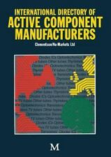 International Directory of Active Component Manufacturers by Clementson...