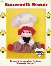 Dumplin Designs BUTTERMILK BISCUIT Crochet Pattern from Cupcake Corner UP1 1985