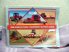 INTERNATIONAL 1989 AGRICULTURAL EQUIPMENT BUYER'S GUIDE LITERATURE