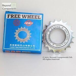 PHEASANT Single Speed Freewheel BMX Fixie Chrome Freewheel 16T /18T Cog Sprocket