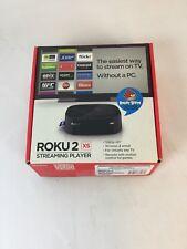 Roku 2 XS (2nd Generation) Media Streamer 3100X - Black With Box. No Remote D3