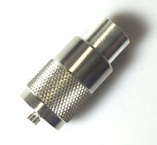 10 Pack PL-259 UHF Male Plug Coax Connector for RG8 LMR400 Teflon Silver Nickel
