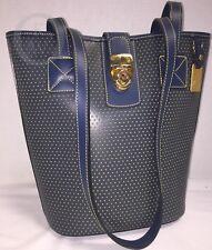 NWT~Dooney & Bourke~Ocean Blue/Yellow*Small Bucket Bag-Shoulder Bag 17362E S163