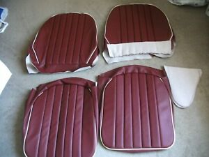 Austin Healey Frogeye Sprite Seat Covers