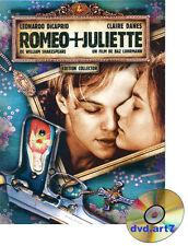 DVD : ROMEO + JULIETTE en Édition collector - Leonardo DiCaprio