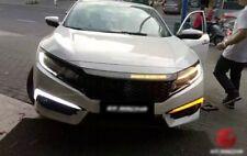 Front LED DRL Daylight Running 1 Pair Fit For Honda Civic 2016-2018 Sedan