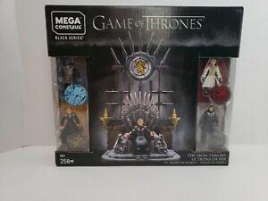 Mega Construx Game Of Thrones- The Iron Throne Building Set (Black Series)~New