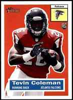 2015 Topps Heritage 5X7 Tevin Coleman RC #/99