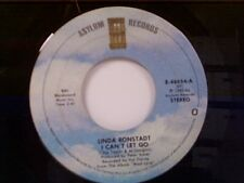 """LINDA RONSTADT """"I CAN'T LET GO / LOOK OUT FOR MY LOVE"""" 45"""