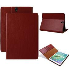 LUXURY Custodia Protettiva Samsung Galaxy Tab s2 Tablet Borsa Cover Case Stand Rosso