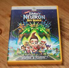 JIMMY NEUTRON: BOY GENUIS (DVD, 2002) MARTIN SHORT,PATRICK STEWART ~FAMILY MOVIE