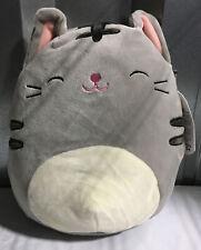 � Squishmallows 8� Tally Tabby Cat Gray Htf Plush Toy Stuffed Animal