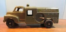 Vintage Hubley Kiddie Toy No. 475 Green Bell Telephone Truck Made In USA