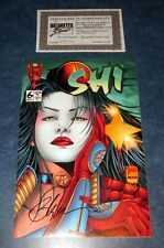 SHI WAY OF THE WARRIOR #6 signed 1st print BILLY TUCCI CRUSADE COMIC 1994 NM COA