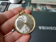 Callima Made in Swiss 17 rubis incabloc gold plated pocket watch