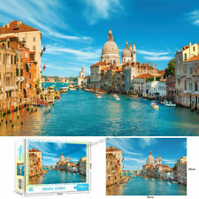 1000 Pieces Venice Jigsaw Puzzles Assembling For Education Games Adults Kids