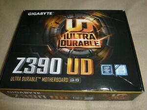 Gigabyte Ultra Durable Z390 UD Desktop ATX Motherboard - Intel Chipset LGA 1151