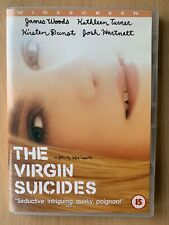 The Virgin Suicides DVD 2000 Sofia Coppola Cult Drama w/ Kirsten Dunst