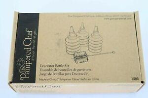 The Pampered Chef Decorator Bottle Set 1585