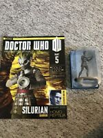 Eaglemoss Doctor Who Figurines Collection Issue 5 Silurian Warrior