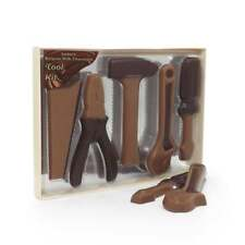 Premium Milk Chocolate Novelty Tool Kit Set Saw Hammer Pliers Wrench Screwdriver