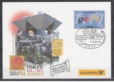 Deutschland Mi. 2181 Messebrief Phila Nippon 2001 Tokyo 50 Jahre Goethe-Institut
