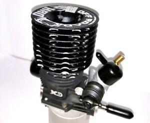 """XRD (Sirio) """"Black 5"""" Motore .21 Ceramico 5 Luci per 1:8 Buggy"""