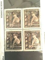 Rare Old Antique Authentic WWII Unused 60 Pf Stamp Collection Lot - World War 2