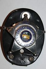 OBSOLETE!! Old Style Lake County Indiana Deputy Sheriff 5-Star Badge