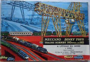 DINKY Toys / Hornby Catalogue Trains Hornby / Meccano 1961/62 Original