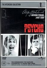 PSYCHO (Anthony PERKINS Janet LEIGH) HORROR Alfred Hitchcock THRILLER Film DVD